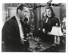 Lauren Bacall signed 8x10 Humphrey Bogart To Have and Have not photo auto COA