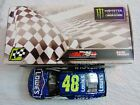 JIMMIE JOHNSON HAND SIGNED 2017 LOWES NASCAR TEXAS RACE WIN 1 24 CAR