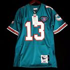 100% Authentic Dan Marino Dolphins Mitchell Ness NFL Jersey Mens Size 40 M