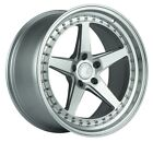 AodHan DS05 19X95 +15 5X1143 Silver Wheels Fit LEXUS GS400 SC400 IS350 5X45