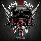 BLOOD RED SAINTS - Love Hate Conspiracies / New CD 2018 / Hard Rock from U.K.