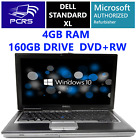 DELL 154 Latitude Laptop Intel Core 200GHz 4GB RAM 160GB HDD DVDRW Windows 10
