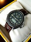 BREITLING NAVITIMER 2100 CHRONO STEEL W/CROC LEATHER