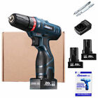 1/2 Speed Automatic Electric Screwdriver Drill Power Tools+Battery+Drill Bits
