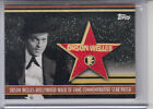 2011 TOPPS AMERICAN PIE HOLLYWOOD WALK OF FAME ORSON WELLES PATCH HWFP 33 50
