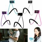Rotation Flexible Cell Phone Clip Tablet Pad Holder Snake-like Lazy Neck Mount