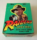 1981 Topps Raiders of the Lost Ark Trading Cards Box 36 Sealed Wax Packs