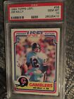 1984 Topps USFL Football #36 Jim Kelly Rookie Card PSA 10