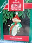 Hallmark Keepsake Ornament -HARK! IT'S HERALD - 1990 BOXED