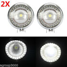 2x Motorcycle Passing Light Angel Eyes For Yamaha XVZ Royal Star Venture Classic