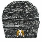 Cavalier King Charles Spaniel/Embroidered Puppy Dog Series Beanie - Stretch Flee