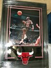Michael Jordan signed photo UDA Chicago Bulls NBA