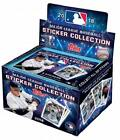 2018 Topps Baseball Stickers Sealed box 50 packs of 8 MLB stickers