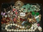 Lot of jewelry  stuff craft wear repair design odds ends 25 lbs pounds B65