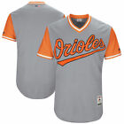 Majestic Baltimore Orioles Gray 2017 Players Weekend Authentic Team Jersey