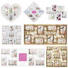 9 Patterm Photo Frames Hanging Family Love Collage Picture Aperture Home Decor