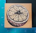Rubber Stampede Wood Mounted Rubber Stamp Orange A308E