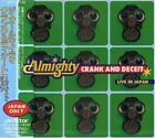 THE ALMIGHTY Crank And Deceit: Live In JAPAN CD VICP-5743 1996 OBI