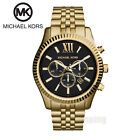 NEW Michael Kors Men's Lexington Gold Stainless-Steel MK8286 Watch