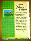 Blue Mountain Arts Greeting Card A Little Morale Booster B2GO SALE