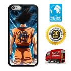 iiPhone 5 5S 5C SE 6 6S 7 8 Plus Dragon Ball Goku Japan Cartoon Case for Apple