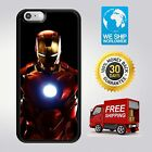 iphone SE/5C/5/6/7/8 plus Iron Man Avengers TPU Case Cover for Apple