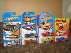 Hot Wheels Lot of 7 83 Chevy Silverado Variation Hot Ones Flames Exclusive 1983