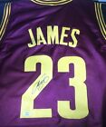 LEBRON JAMES - CLEVELAND CAVALIERS - HAND SIGNED CAVALIERS CUSTOM JERSEY - COA