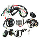 Electric Wiring Harness Wire Loom CDI Stator Kit for ATV QUAD 150CC 200CC 250CC