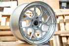 Aodhan DS01 18x95 +30 5x1143 Silver Fits Tuburon Mazda 3 Eclipse Rx8