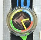 Vintage POP Swatch Quartz 90s Watch Cool Colorful New Old Stock in Box