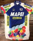 Vtg Mapei Quick Step Team UCI World Cup Cycling Jersey 1998 Size L Sportful