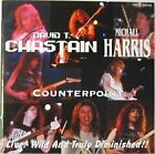 DAVID T. CHASTAIN, MICHAEL HARRIS Live! Wild And Tru JAPAN CD TECX25316 1992 OBI