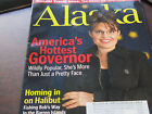 ALASKA Magazine History Governor Sarah Palin 2008 9 page article Pictures