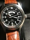 IWC Pilots UTC TZC IW3251 Automatic Stainless Steel Watch 39mm