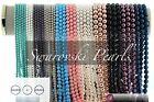 Swarovski Pearls 3mm 4mm 6mm 8mm10mm 45 Colors Round Pearl Beads 5810