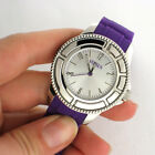 Versus Versace SH7010013 Tokyo Purple Rubber Strap Watch Parts Not Working