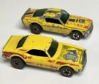Hot Wheels Redline Yellow Mustang Stocker  Heavy Chevy Flying Colors Lot