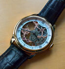 Rotary Skeleton Mechanical Watch GS02522/01 Rose Gold, Manual, Vintage Style
