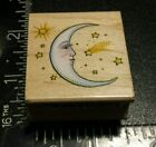 All Night Media New Moon Rubber Stamp 462D