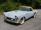 1956 Ford Thunderbird Base Convertible 2 Door NICE UNRESTORED WEST COAST 1956 THUNDERBIRD GOOD SOLID RUST FREE BODY AND FRAME