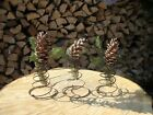 3 BED SPRINGS Rustic CHRISTMAS DECORATION Primitive ANTIQUE Old Farm House