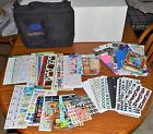 Creative Memories ACCESSORY BINDER w 5 sticker pages 32 NEW STICKERS Misc EUC
