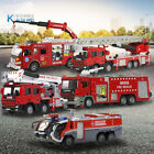 Set of Fire Engines Metal Truck Die cast Vehicle Collection Car Model Toy 150