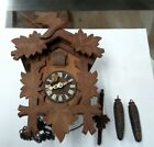 OLD GERMAN CUCKOO CLOCK , BLACK FOREST,
