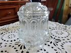 L.E Smith Crystal Clear Moon and Stars 2 Piece Fairy Lamp / Candle Lamp 6-1/4