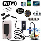 6 / 8LED WiFi Borescope Endoscope Inspection HD Camera For iPhone Samrt Phones
