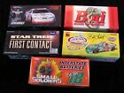 LOT OF 5 ACTION NASCAR DIECAST COLLECTIBLE 1 24 CARS NIB 1995 2001