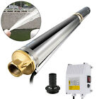 VEVOR Submersible Well Pump 423FT 26GPM 220V 2HP Deep Stainless Steel Water Pump