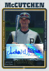 Andrew McCutchen 2005 Topps Chrome U&H #UH234 Auto Signed Rookie Card rC NM-MT